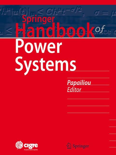 Cover des Handbuchs Power Systems vom Springer Verlag.