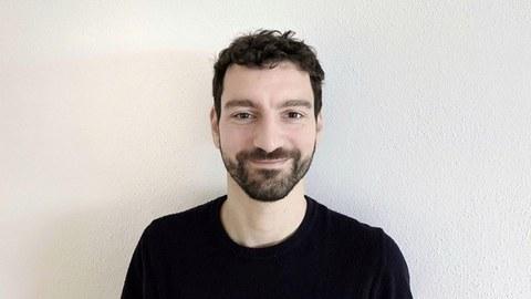 Portraitaufnahme eines Mannes.