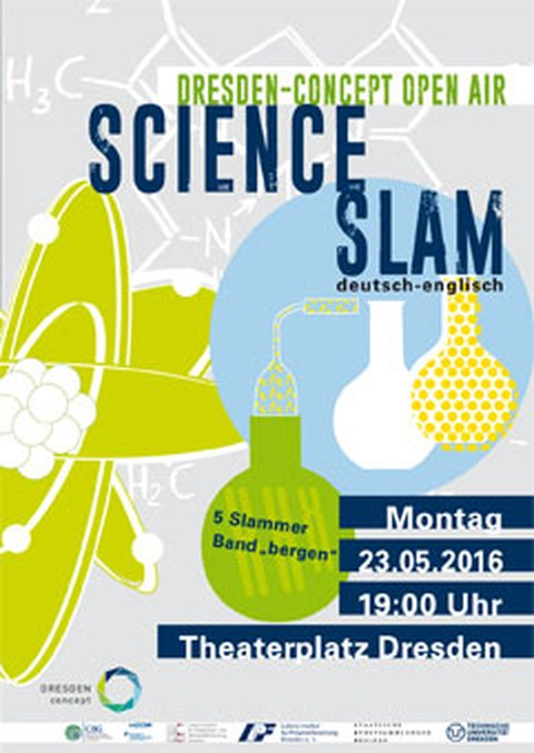 Plakat Science Slam