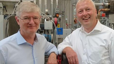 Alfred Kappenstein (links) und Prof. Dr.-Ing. Clemens Felsmann