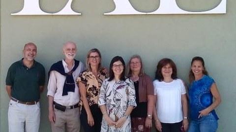 Gruppenbild mit Vertretern des Promotionsprogramms
