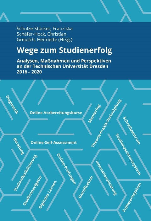 """Cover des Buches """"Studienerfolg"""" in Blautönen"""