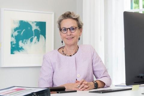 Rektorin Prof. Ursula M. SStaudinger