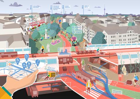 Urbane Daten in der Stadt