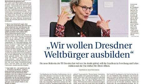 TUD-Beilage Sächsische Zeitung Oktober 2020
