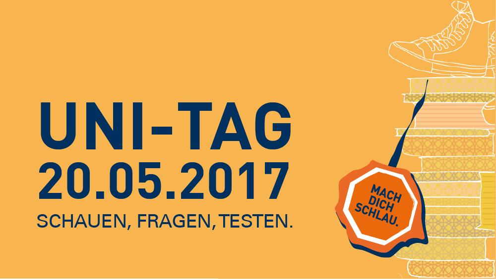 Uni tag  UNI-TAG am 20. Mai 2017 - Offene Türen an der TU Dresden — TU ...