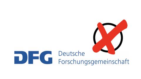 DFG-Logo mit Kreuz