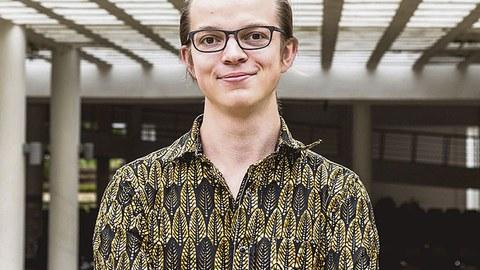 Lutz Thies, Studierendenvertreter im Senat der TUD