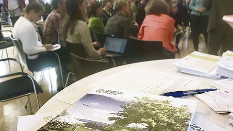 Auch ein Thema auf der Konferenz: der Masterplan Campusgestaltung der TUD.