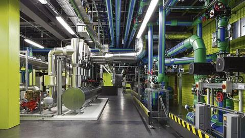 TUD Supercomputer Abwärme