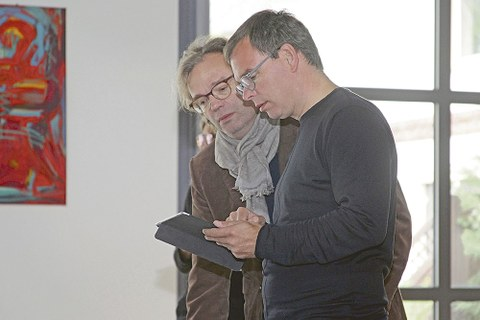 Die Professoren Ansgar und Benedikt Schulz.