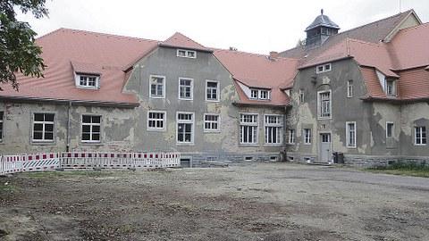 Das ehemals russische Offizierskasino in Königsbrück.