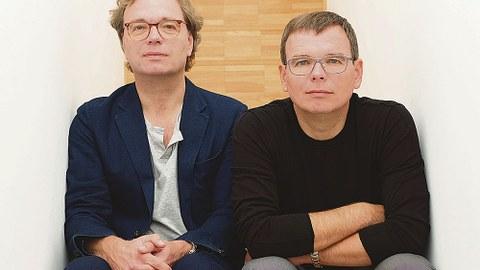 Die Professoren Ansgar Schulz (l.) und Benedikt Schulz.