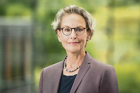 Prof. Ursula M. Staudinger, Rektorin der TU Dresden.