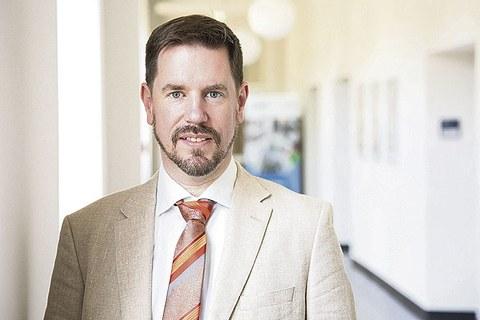 Porträt Prof. Martin Sedlmayr.