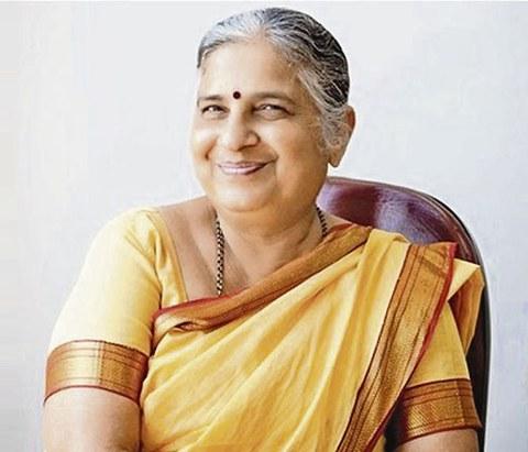 Porträt Sudha Murty.