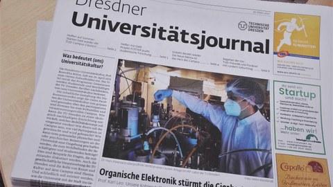 Bild Universitätsjournal Ausgabe 06-2021