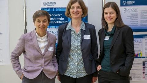 Drei Gastprofessorinnen