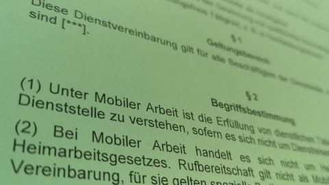 mobile arbeit bild dv