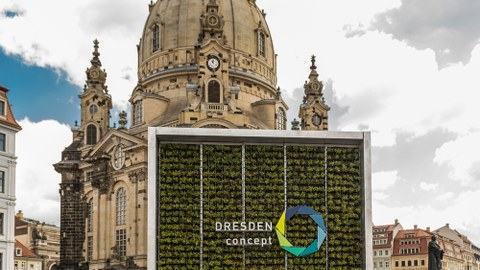 DRESDEN-concept Wissenschaftsausstellung am Neumarkt