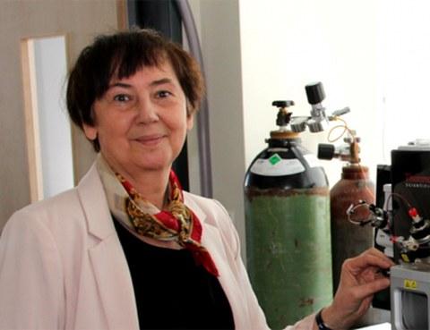 Porträt Prof. Ewa Bulska
