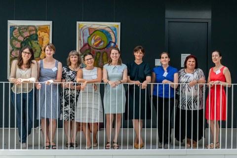 Group photo of Trefftz professors 2019