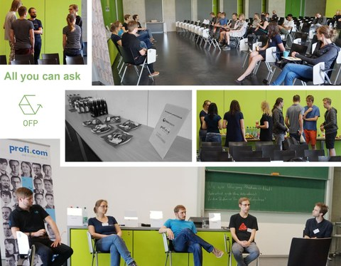 Collage Informatik-All you can ask