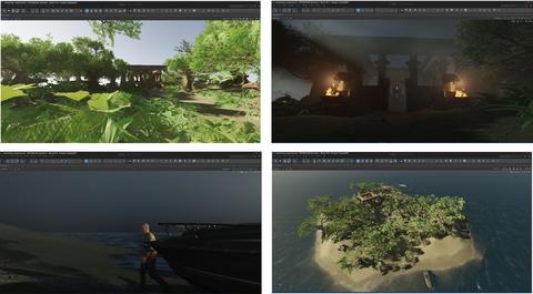 """Screenshots zum Workshop """"Spieleentwicklung mit der CryEngine"""""""
