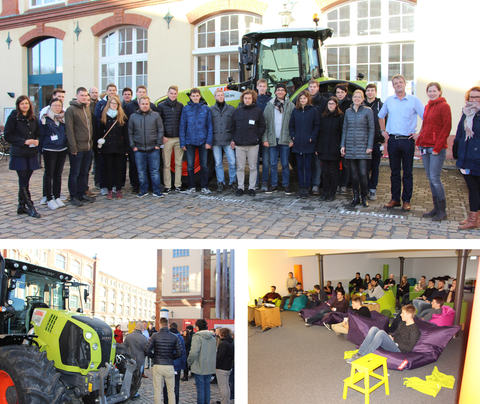 "Gruppenbilder zur ""T-Systems meets CLAAS"" Exkursion"