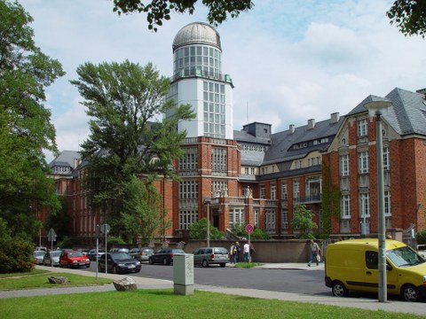 Beyer Building at Technische Universität Dresden