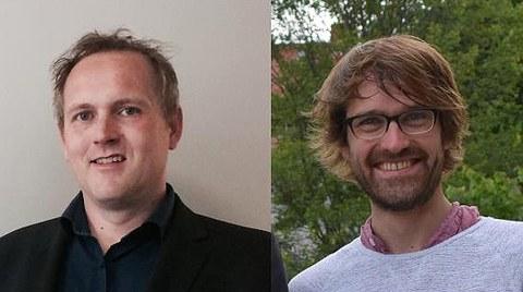 Dr. Volker Busskamp (links), Dr. Tobias Meng (rechts)