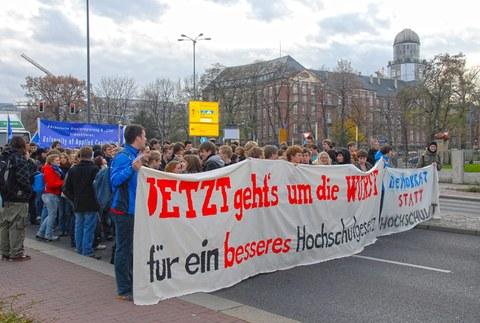 Studentendemonstration 2008