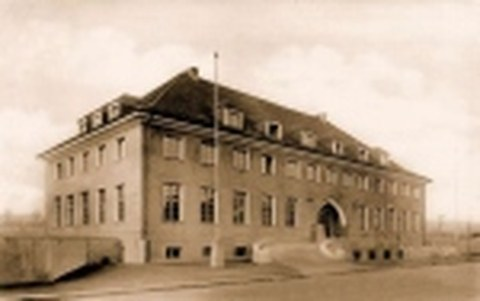 Studentenhaus an der Mommsenstraße