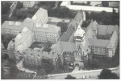 Gebäudekomplex des ehemaligen Landgerichtes