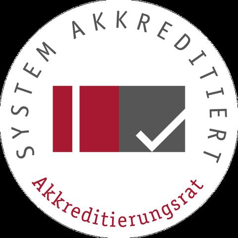 Siegel des Akkreditierungsrates - systemakkreditiert
