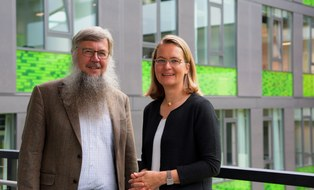 Porträtfoto Prof. Dr.-Ing. Gesine Marquardt und Prof. Dr. rer. nat. habil. Gerhard Weber