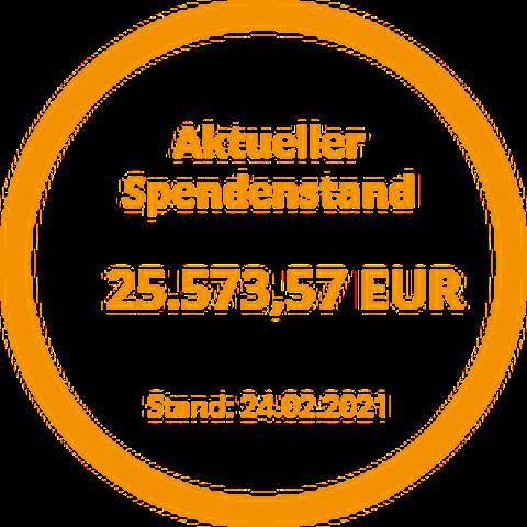 Spendenstand 24.02.2021