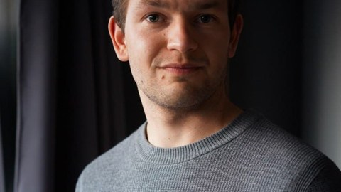 Stipendiat Hannes Trumpf