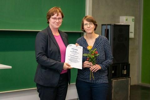Preisträgerin Gesine Wegner