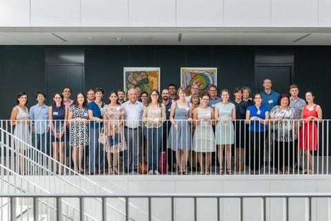 Group photo of Trefftz professors and Dresden Fellows 2019