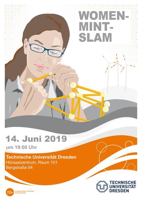 Plakat Women-MINT-Slam
