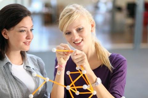 Taffe Frauen Mathe und Physik