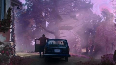 Bild aus dem Film Die Farbe aus dem All