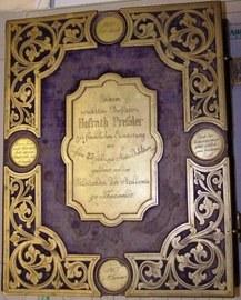 Das Fotoalbum des Tharandter Gelehrten Prof. Pressler um 1867.