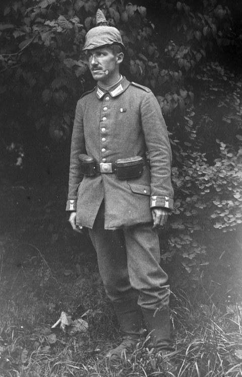 Kurt Beyer als Soldat