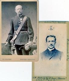 Familiennachlass Rüling Tharandt, Vater und Sohn etwa 1865