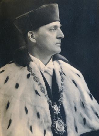 Ludwig Binder als Rektor der TH Dresden 1932