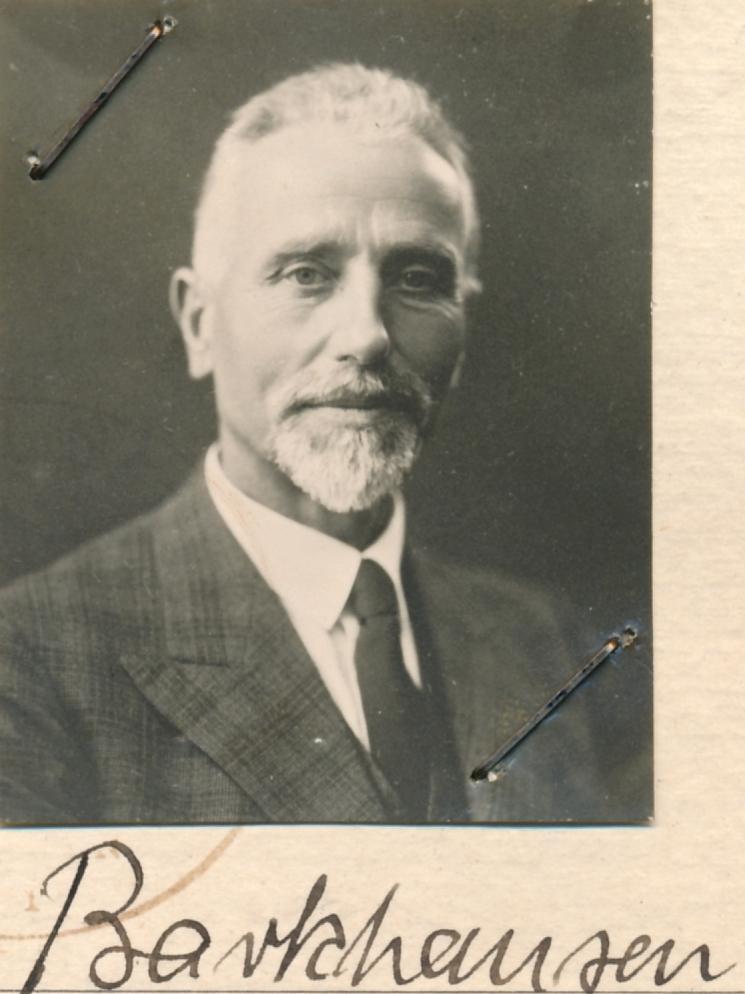 Prof. Heinrich Barkhausen