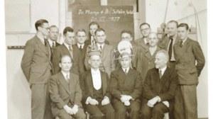 Promotionsfeier 1937 unter Prof. Barkhausen