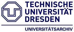 Logo UA der TUD
